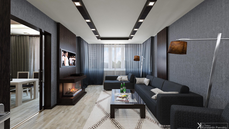 Дизайн трехкомнатных квартир 2018 новинки